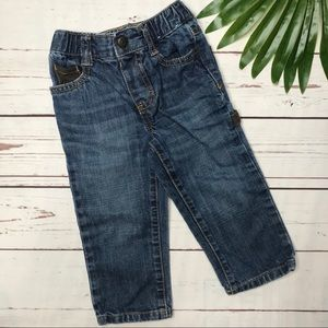 {Gymboree} sz 18-24 mo straight leg carpenter jean